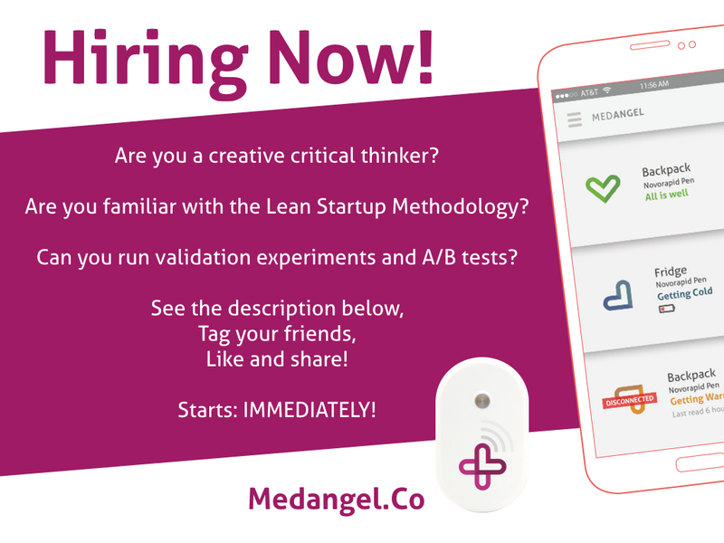 We are hiring a startup girl/guy!