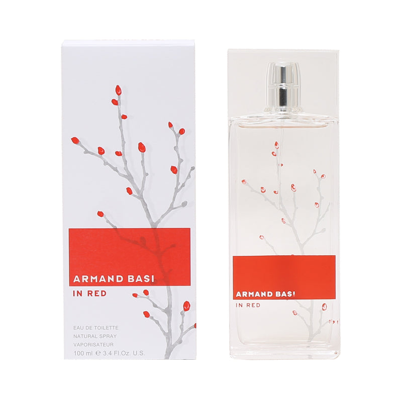 Armand Basi In Red By Armand Basi -Eau De Toilette Spray 3.4 Oz
