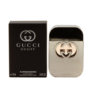 Gucci Guilty Platinum For Ladies EDT Spray