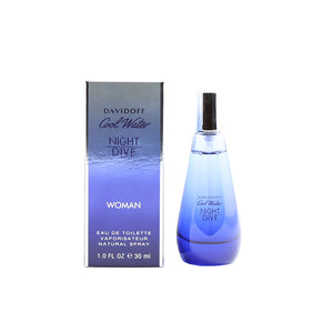 Cool Water Women Night Dive EDT Spray