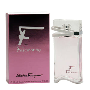 F For Fascinating By Salvatore Ferragamo 3 Oz