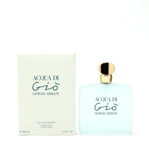 Acqua Di Gio For Women By Giorgio Armani -Eau De Toilette Spray** 3.3 Oz