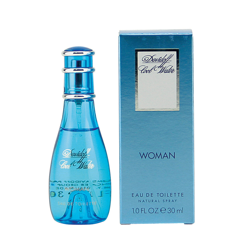 Cool Water Woman By Davidoff -Eau De Toilette Spray