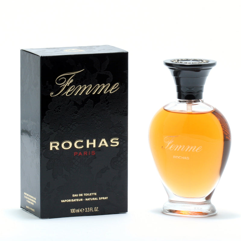Femme By Rochas -Eau De Toilette Spray 3.4 Oz