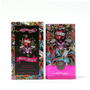 Heart And Daggers For Women By Ed Hardy -Eau De Parfum Spray