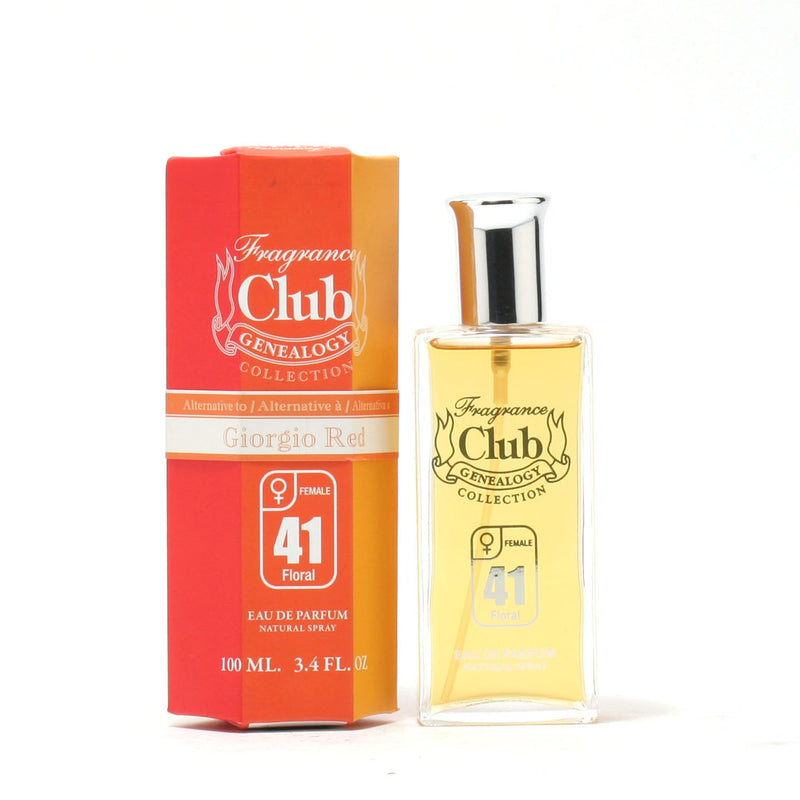 Frag Club #41 - Red Giorgio Beverly Hills Ladies - Eau De Parfum Spray