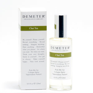 Demeter Chai Tea - Cologne Spray 4 Oz