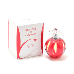 Delices De Cartier Ladies- Eau De Toilette Spray
