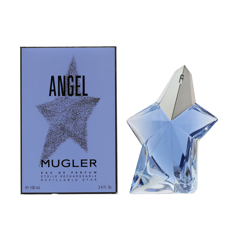 Angel By Thierry Mugler (Refillable) Star -Eau De Parfum Spray 3.4 Oz