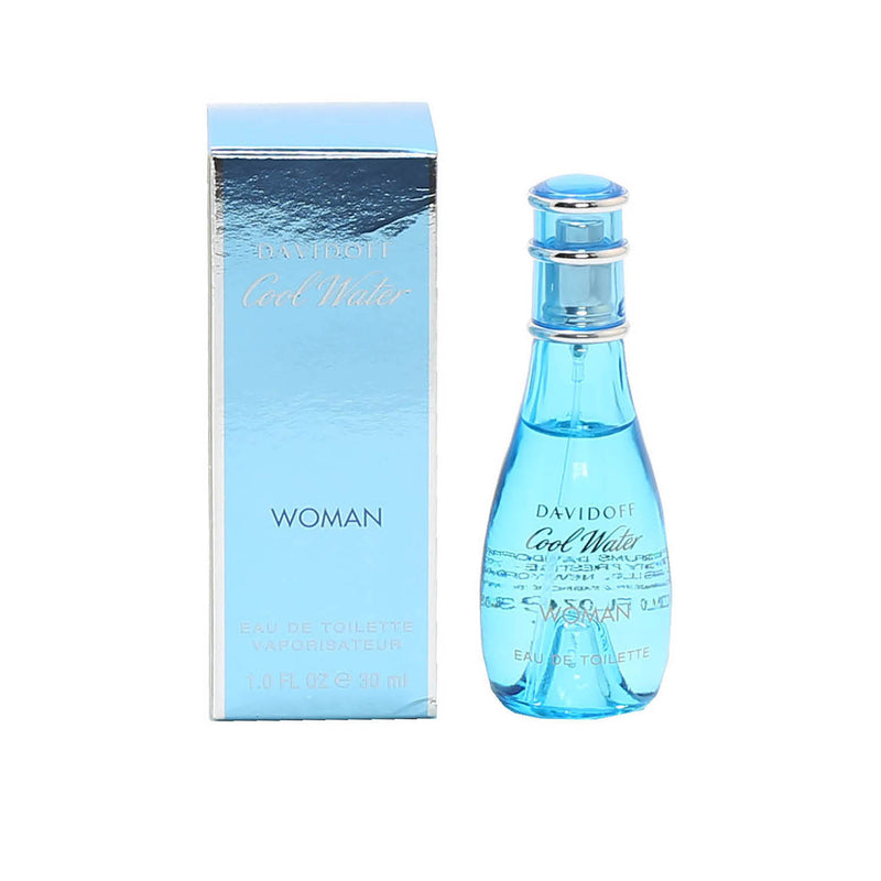 Cool Water Ladies By Davidoff- EDT Spray (Damaged)