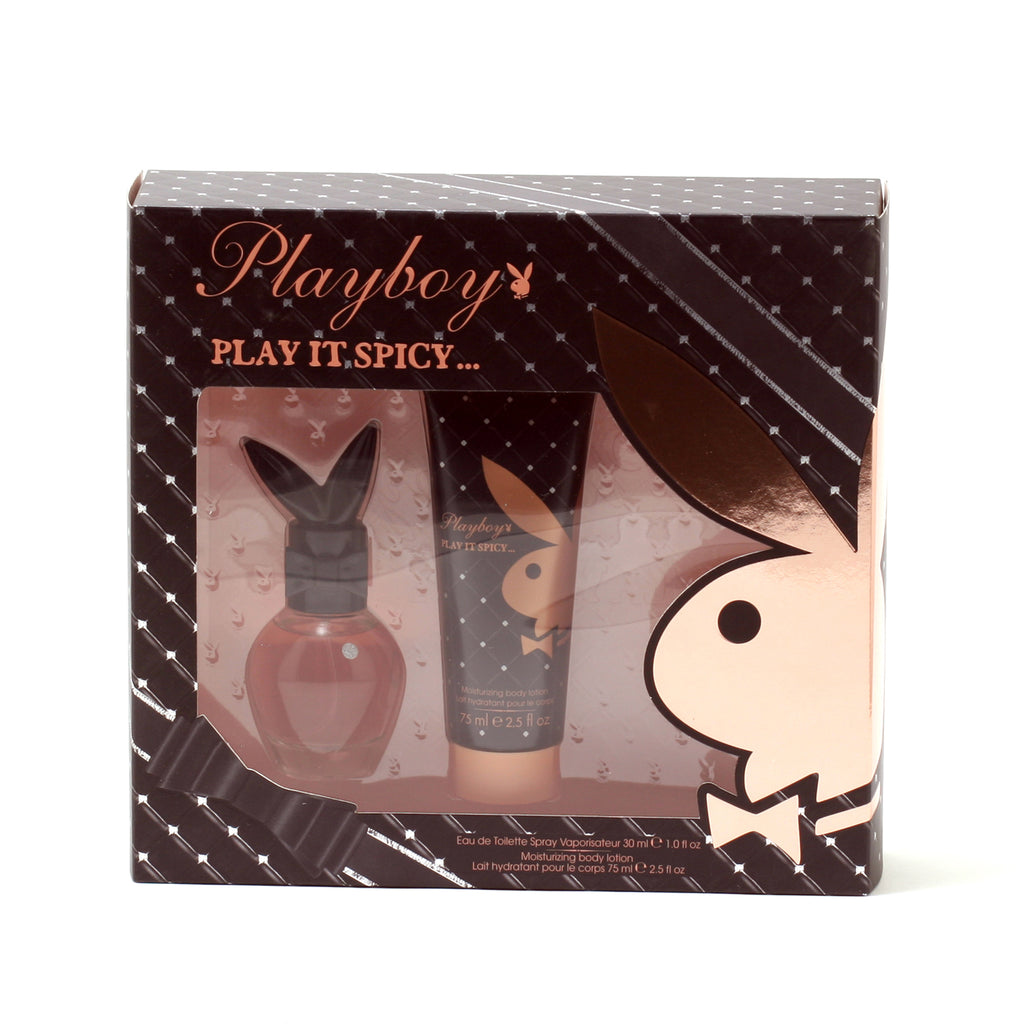 Playboy Play It Spicy 1 Oz Spray/2.5 Oz Body Lotion