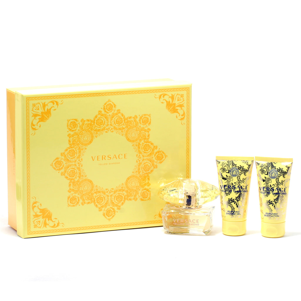 Versace Yellow Diamond Ladies- 1.7 Sp/1.7 Sg/1.7 Bl (Hard Box)
