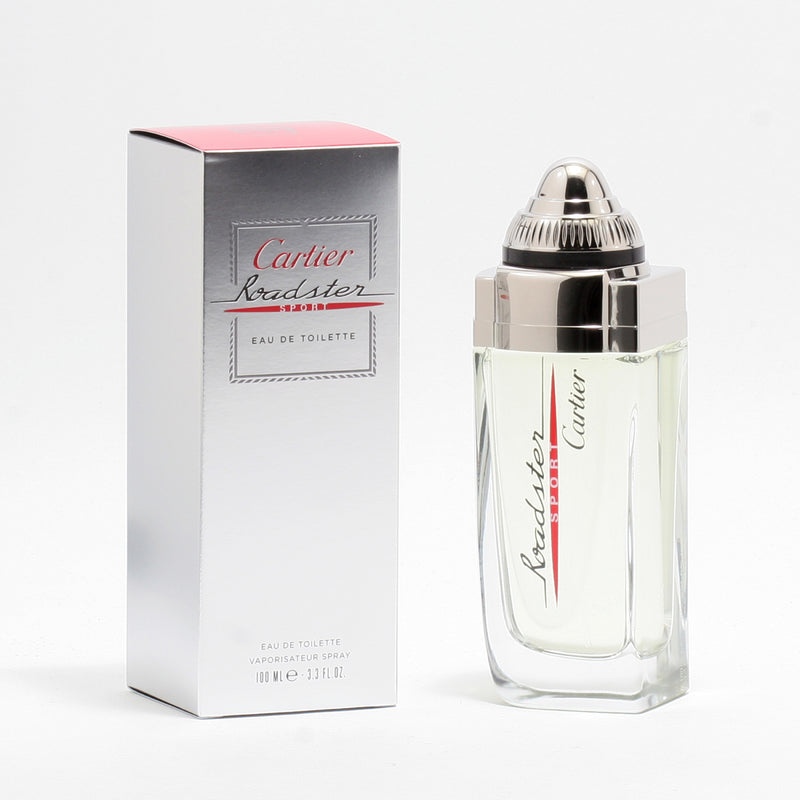 Roadster Sport By Cartier -Eau De Toilette Spray 3.3 Oz