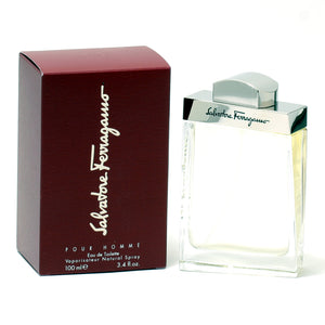 Salvatore Ferragamo For Men -Eau De Toilette Spray 3.4 Oz