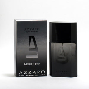 Azzaro Pour Homme Night Time -Eau De Toilette Spray