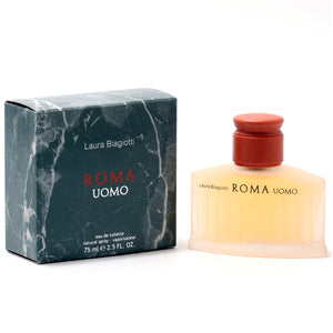 Roma Uomo By Laura Biagiotti -Eau De Toilette Spray 2.5 Oz