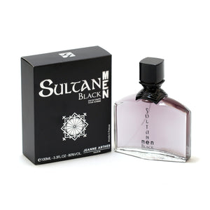Sultan Man Black By Jeanne Arthes -Eau De Toilette Spray 3.4 Oz