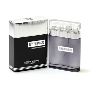 Supercharged For Men By Jeanne Arthes -Eau De Toilette Spray 3.4 Oz