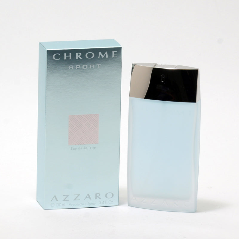 Chrome Sport Men By Azzaro- EDT Spray