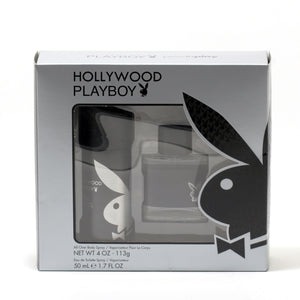Playboy Hollywood For Men - 4 Oz Body Spray/ 1.7 Oz Spray