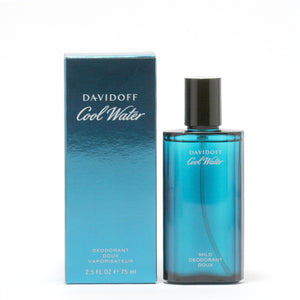 Cool Water Men By Davidoff- Deodorant Spray (Glass Bottle)
