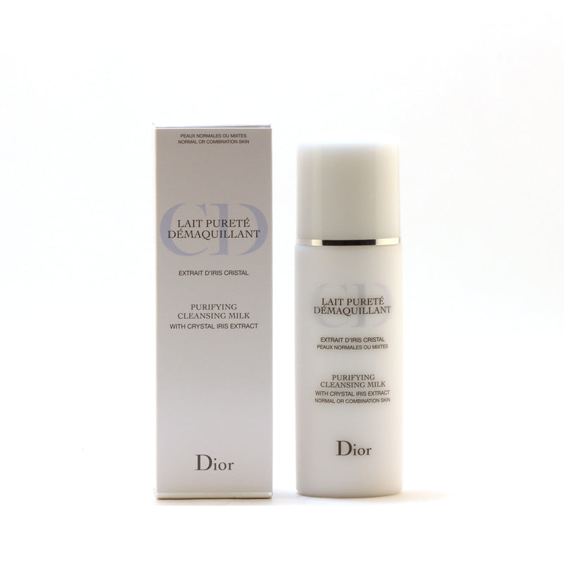 Dior Purifying Cleansing Milk Nor/ Combo Skin W/Cry Iris Extract