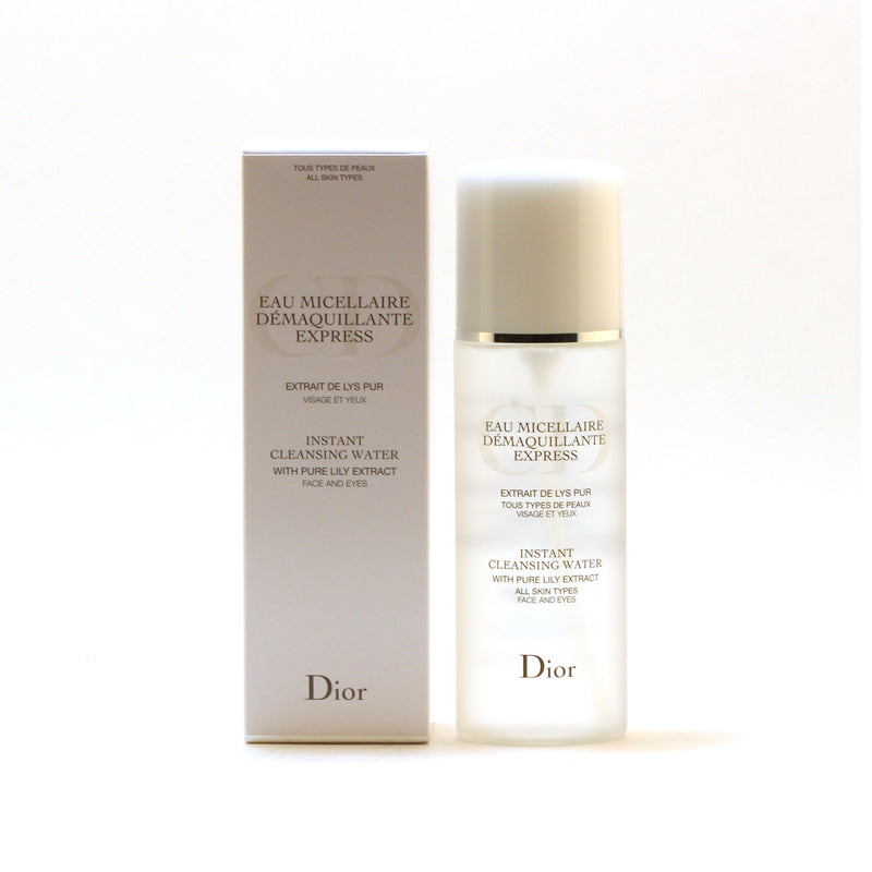 Dior Instant Cleans Water All Skin Types W/Pure Lily Extract