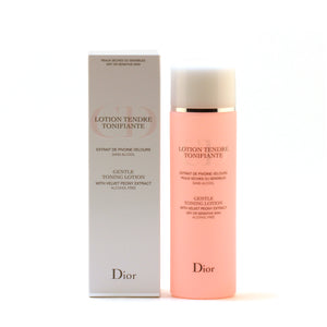 Dior Gentle Toning Ltn With Velvet Peony For Dry Skin