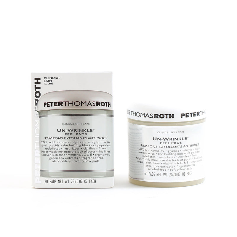 Peter Thomas Roth Un-Wrinkle Peel Pads 60 Ct
