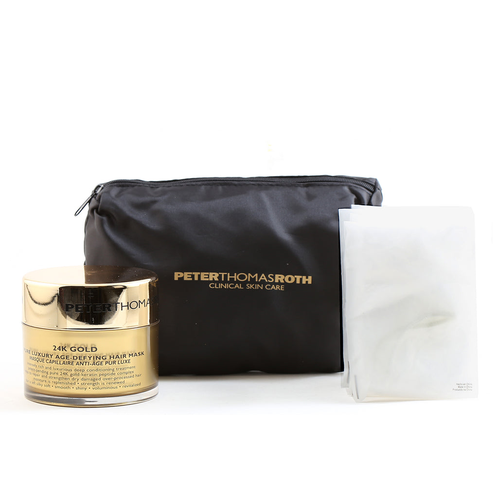 Peter Thomas Roth 24K Gold Lux Age Defy Hairmask & Bonnet System