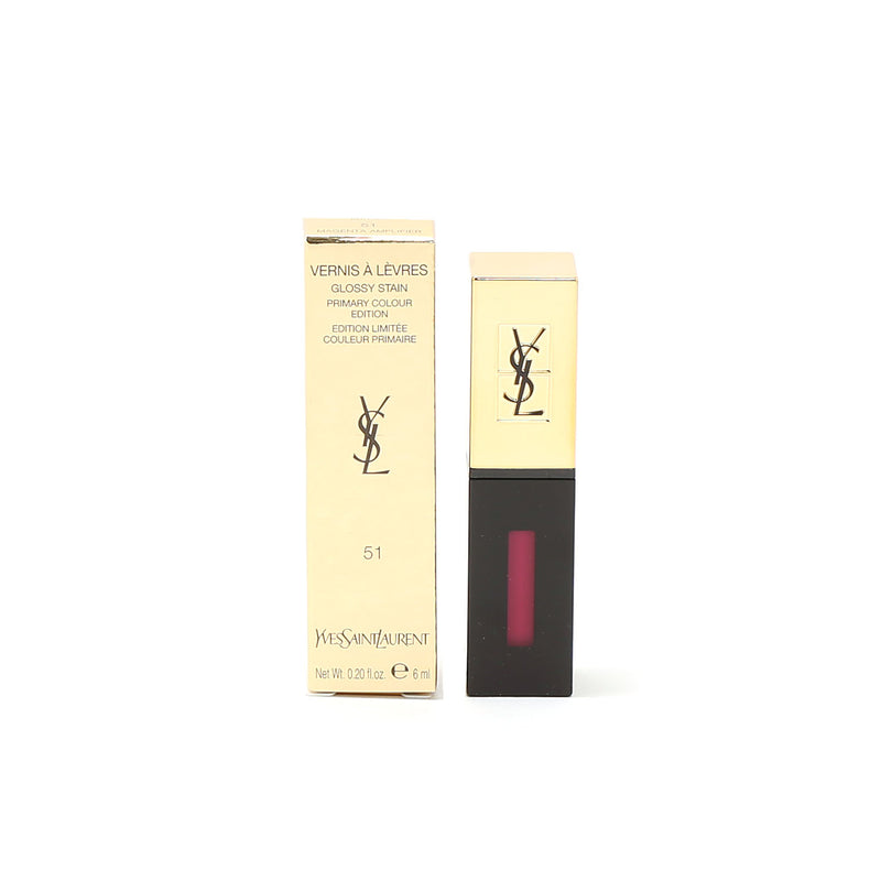 YSL Rouge Pur Cout Glossy Stain  #51 Magenta Amplif