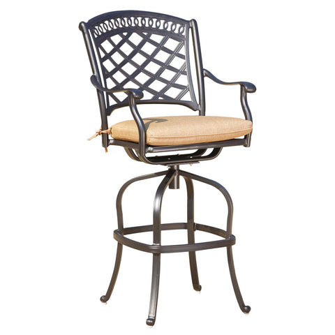 Sedona Bar Height Swivel Bar Stool