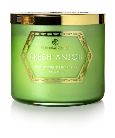 Fresh Anjou by Colonial Candle, 14.5 oz (4422763839571)