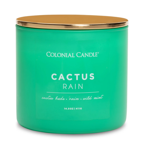 Cactus Rain by Colonial Candle, 14.5 oz (4422561955923)