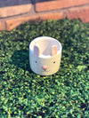 Small White Bunny Pot