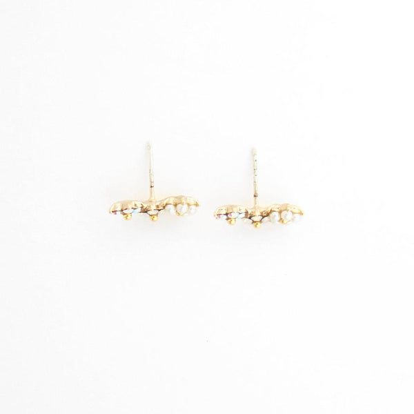 Floral Climber Earrings (4415770918995)