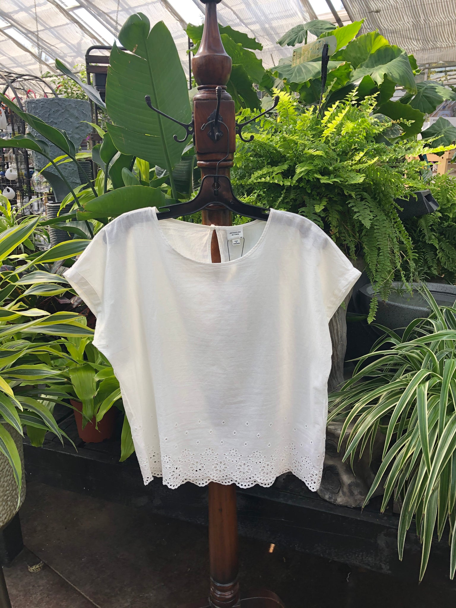 Lace Cutout T-shirt