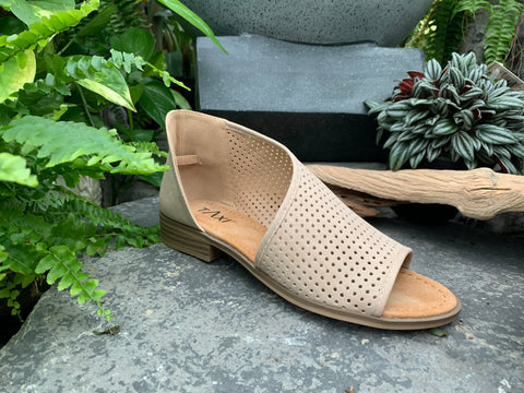 Leather Wrap Sandal (4415432228947)