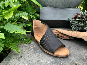 Leather Wrap Sandal (4415432065107)