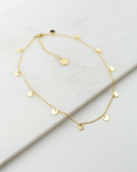 Fool's Gold Necklace (4415539085395)