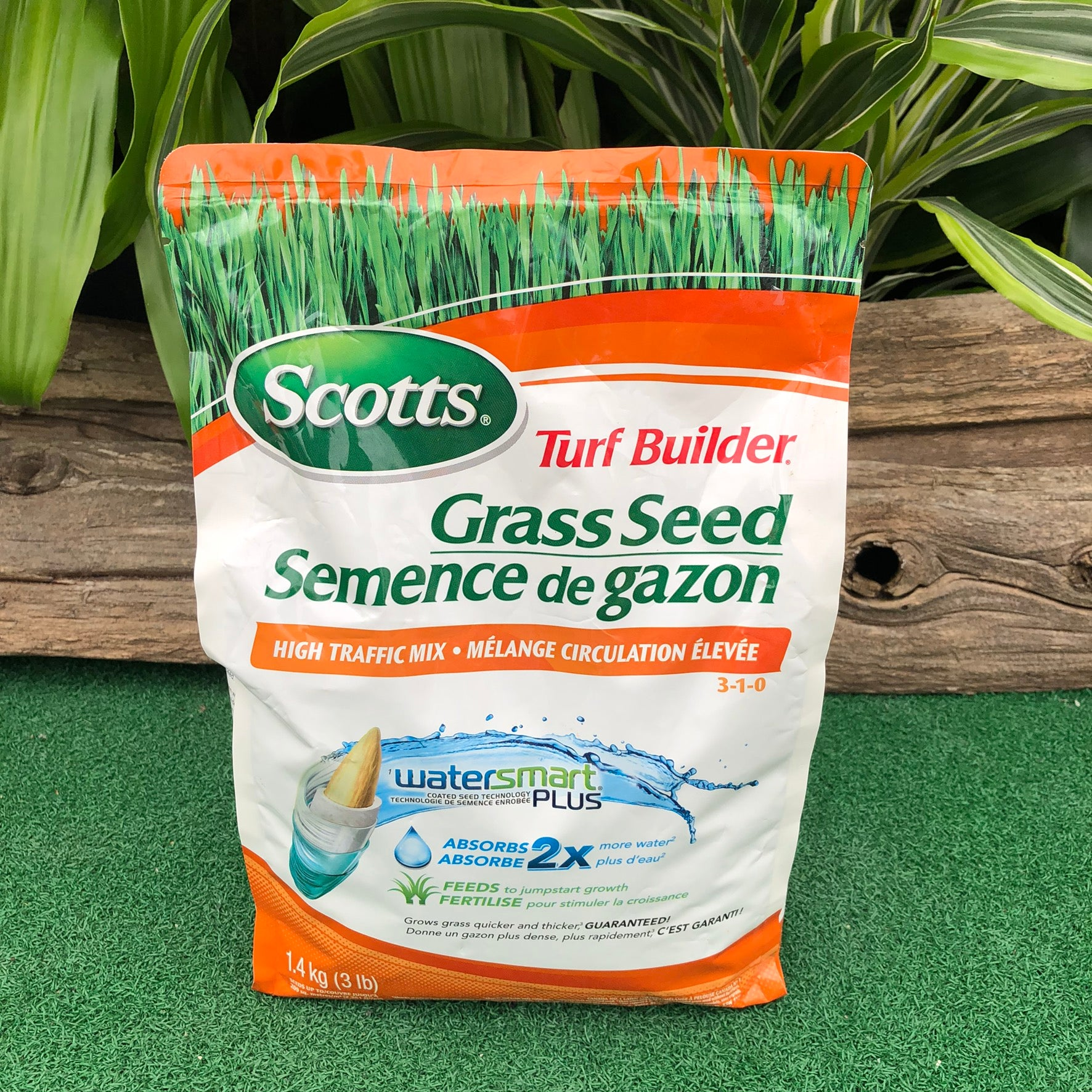 Turf Builder Grass Seed High Traffic Mix (3-1-0) (4415577194579)