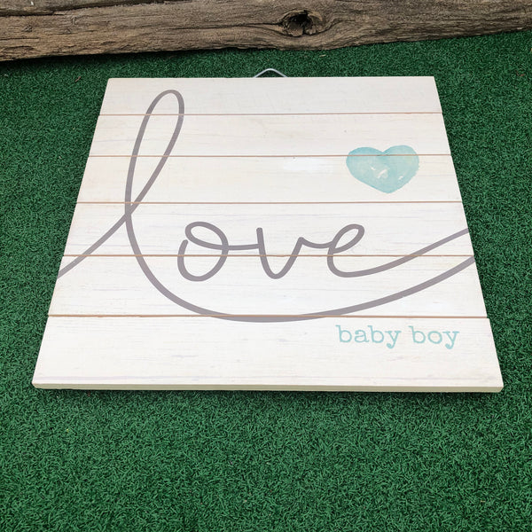 Love Baby Boy/Girl Sign
