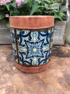 Tile Pattern Pot (4425433186387)