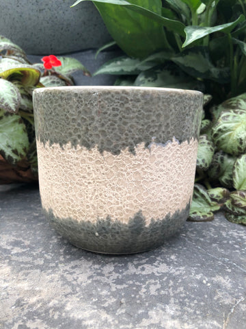 Bubble Print Pot