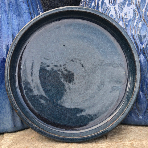 Ceramic Saucer Dark Blue