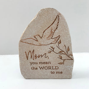 Mom, You Mean The World To Me Plaque (4415624806483)