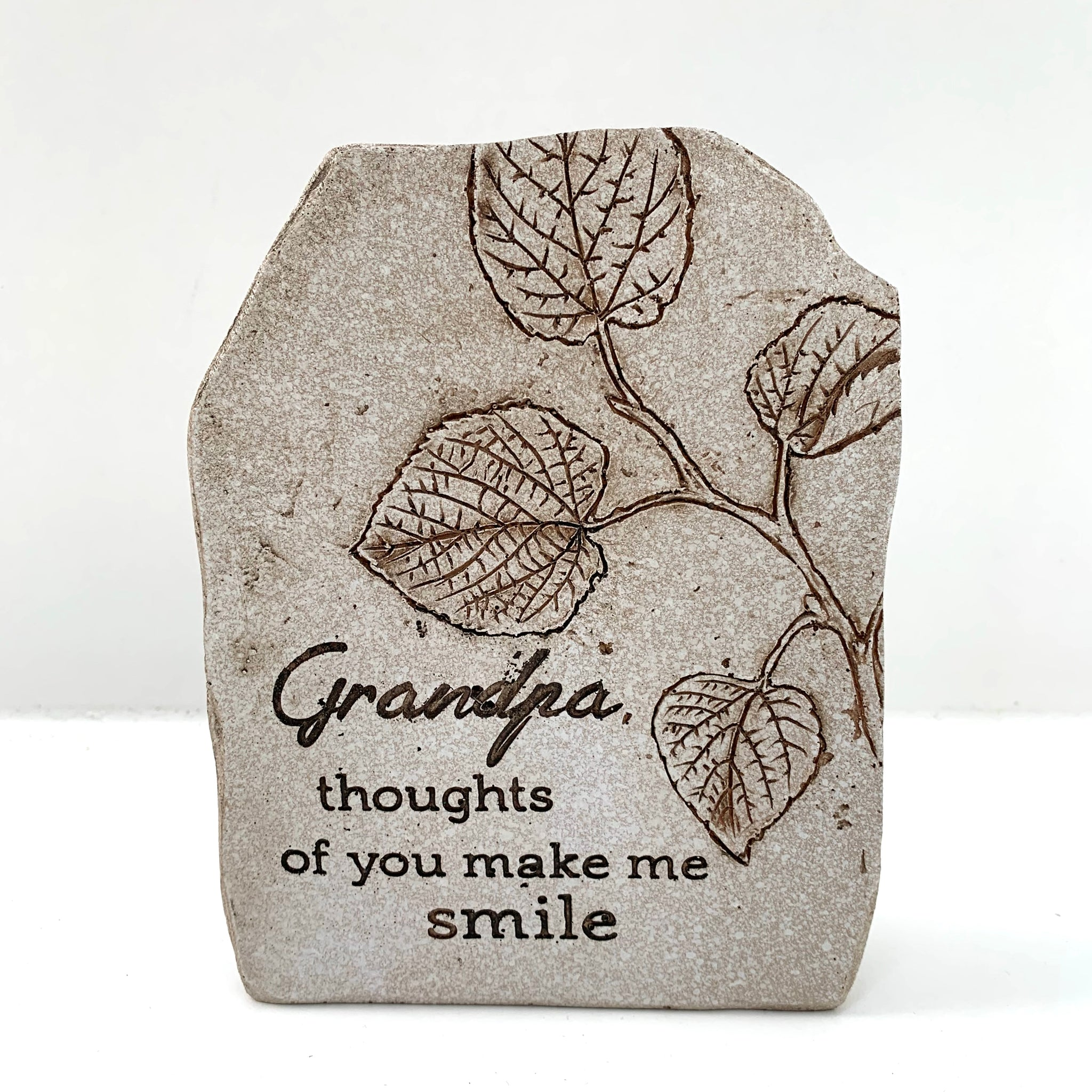 Grandpa, Thoughts Of You make Me Smile Plaque