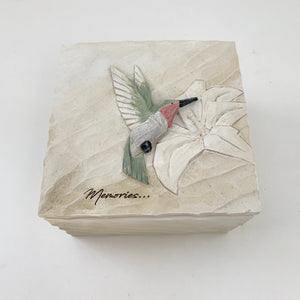 Memories Box With Hummingbird (4415625592915)