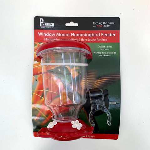 Window mount hummingbird feeder (4415610486867)