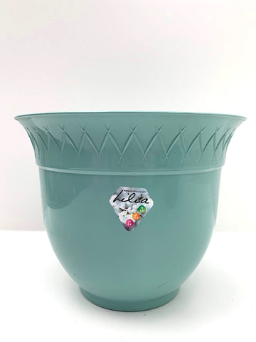 Green Plastic Pot